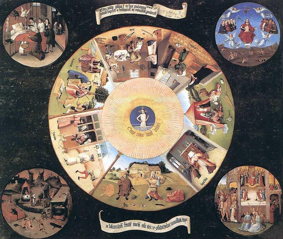 Sete pecados mortais