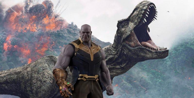 https://cinemaplanet.pt/wp-content/uploads/2018/11/Thanos-and-T-Rex-From-Jurassic-World-Fallen-Kingdom.jpeg