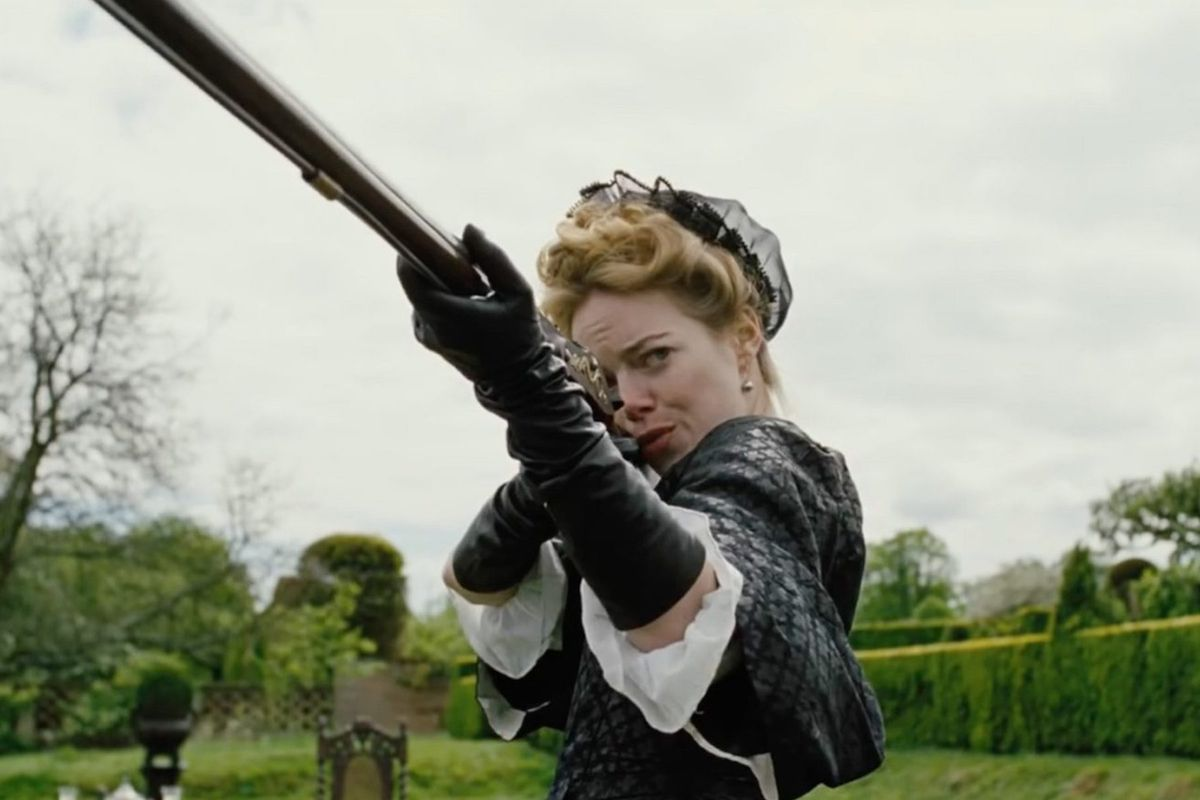 The favourite Emma StoneThe favourite Emma Stone