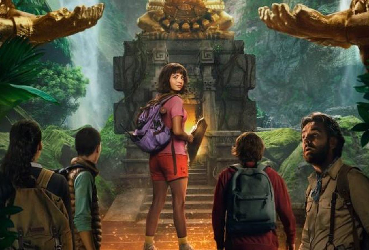 """Novo Poster para """"Dora and the Lost City of Gold"""""""