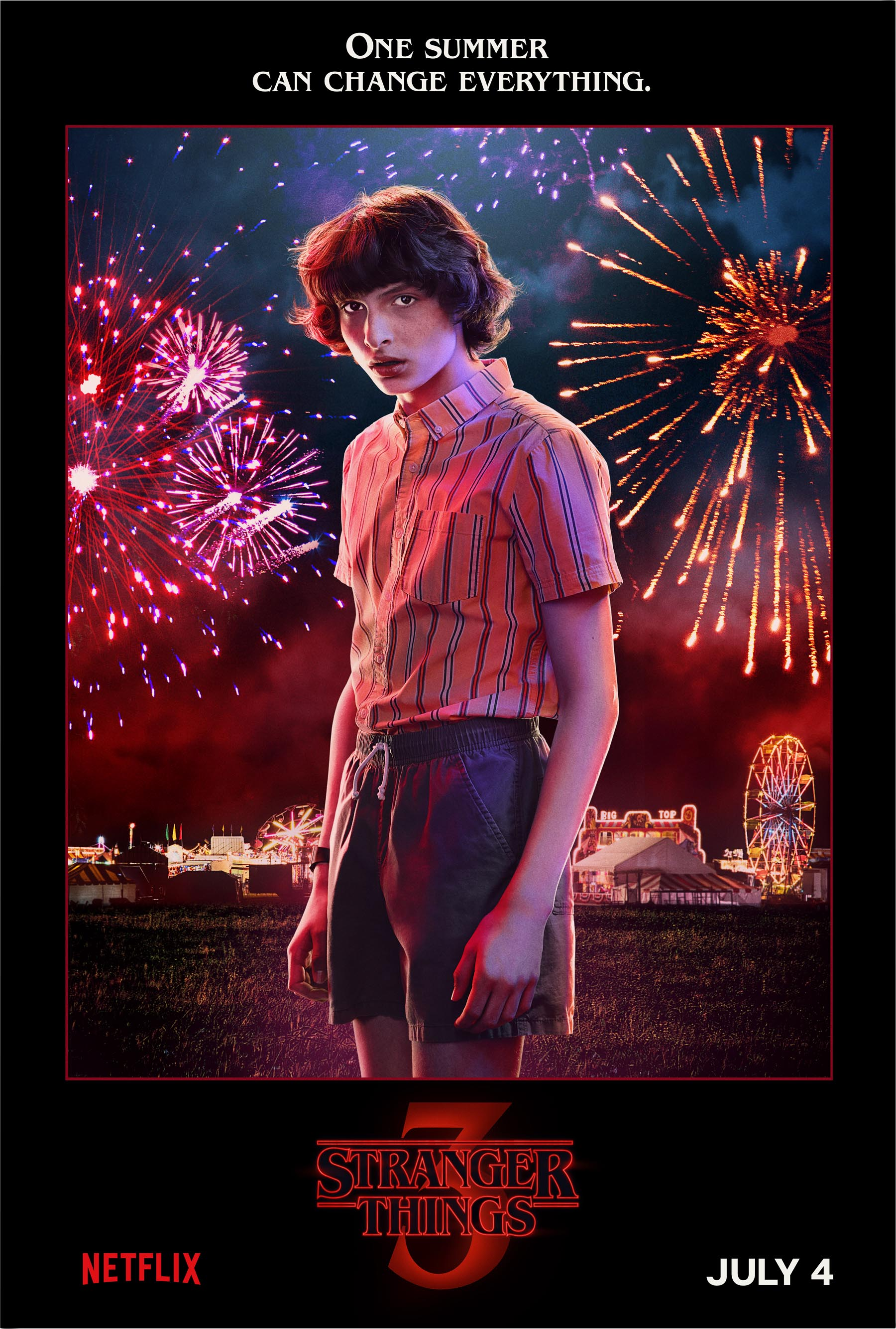 Stranger Things 3 Character poster CR: Netflix
