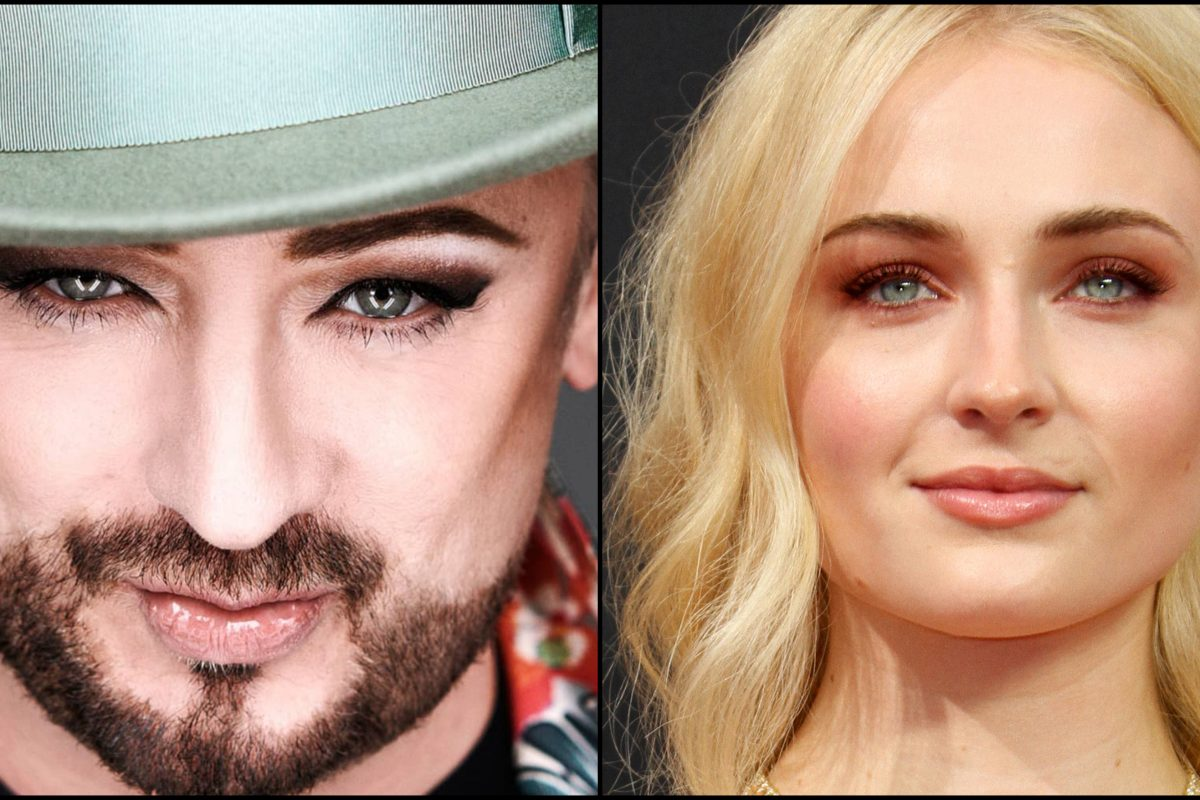 Sophie Turner vai interpretar Boy George no cinema?