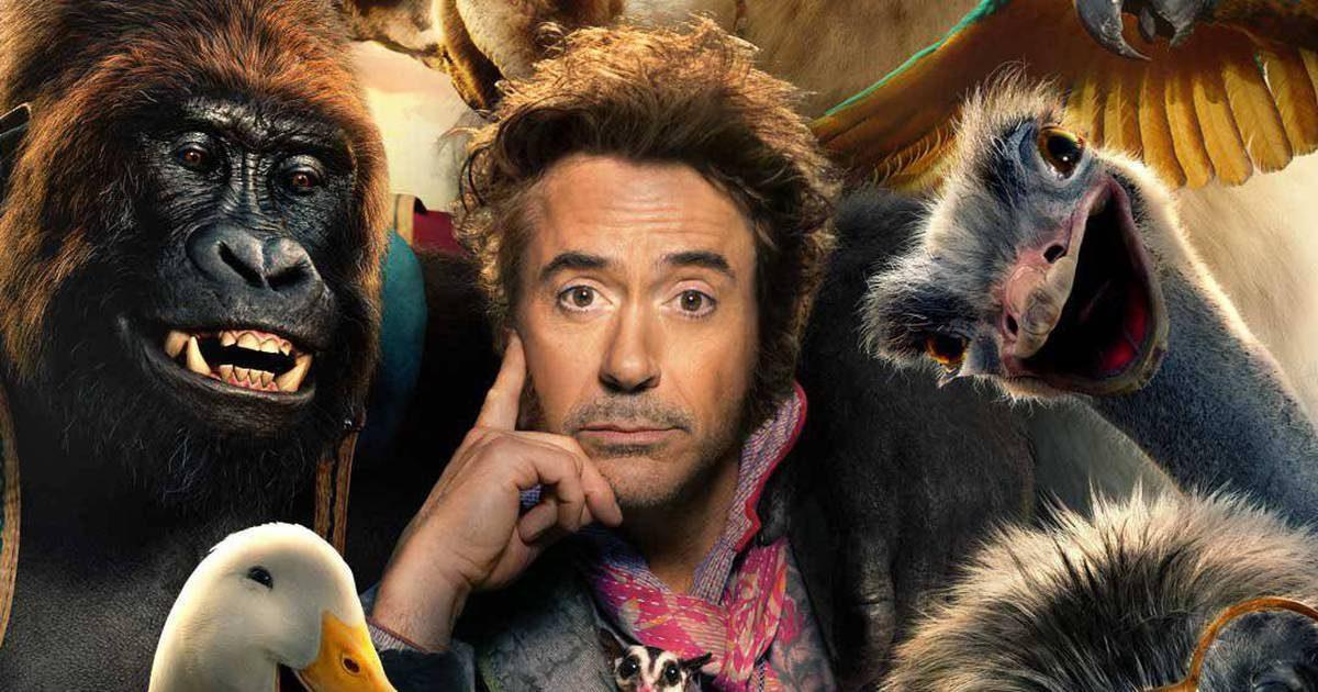 """Robert Downey Jr. volta ao cinema em Janeiro de 2020 com """"Dolittle"""""""