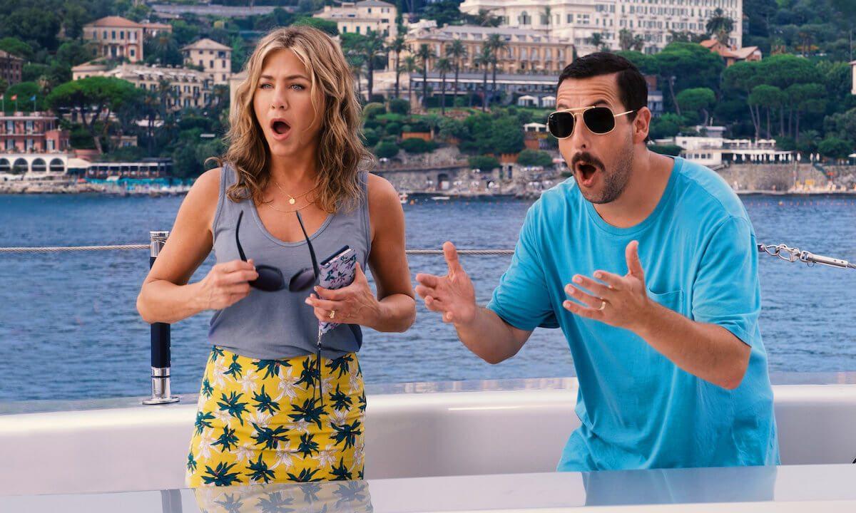 Adam Sandler e Jennifer Aniston voltam à Netflix