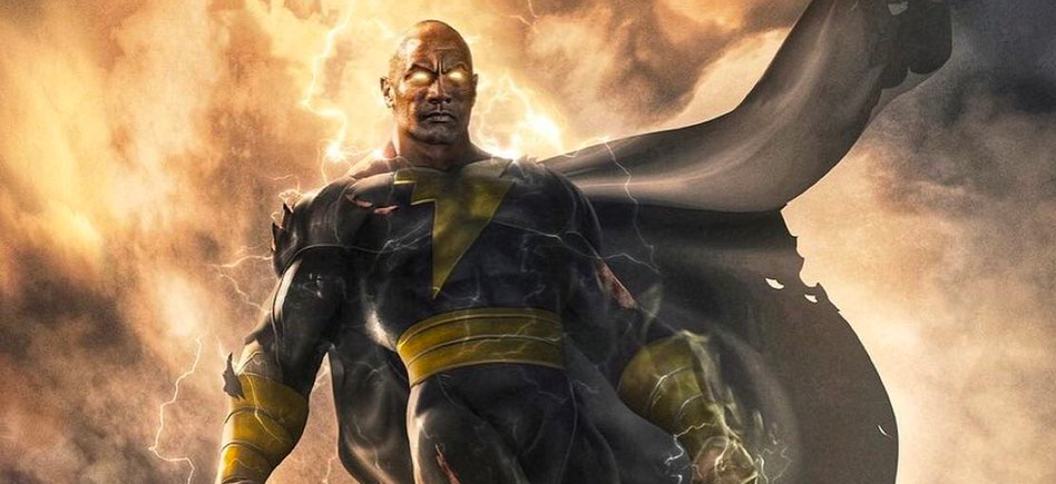 Black Adam | The Rock divulgou a data de estreia e o pôster do filme