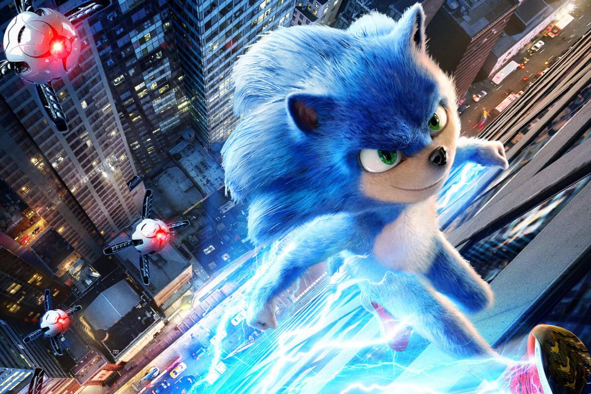 Sonic está de volta com um novo visual no segundo trailer do filme