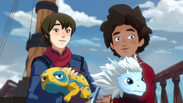 "Temporada 3 de ""The Dragon Prince""ganhou trailer"